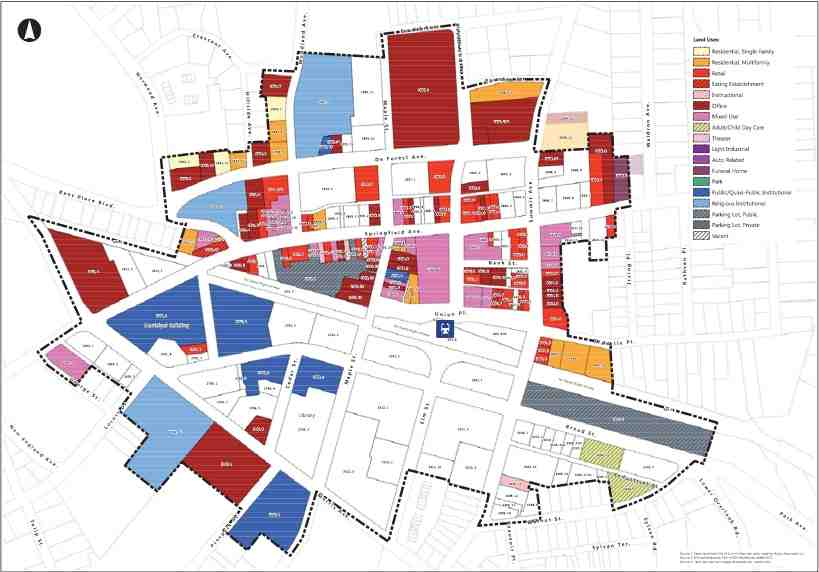 Division of Public Works Downtown Map