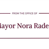 NF from the office of Mayor Nora Radest