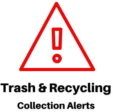 Trash Recycling Collection Alerts