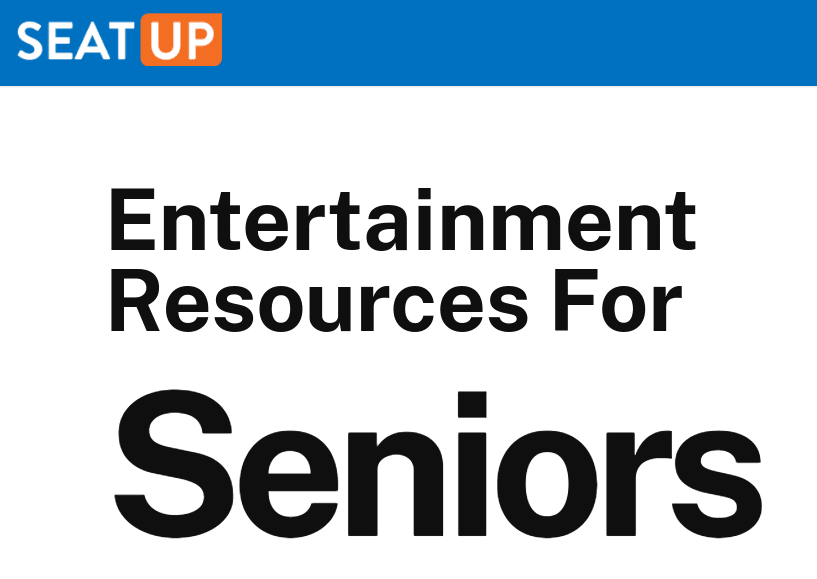 Seat Up Resources for Seniors